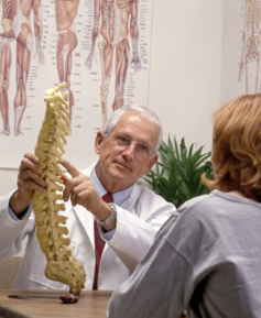 Learning details about your back and spine